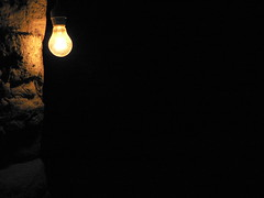 The darkness shine (cctrilla) Tags: light black luz yellow wall bulb pared lumix words poetry darkness negro amarillo adobe poesia salamanca minimalism minimalismo palabras 100club bombilla oscuridad 50club cctrilla sobrao elladooscurodelaluz tearsoflight thedarksideofthelight lagrimasdeluz tordillos