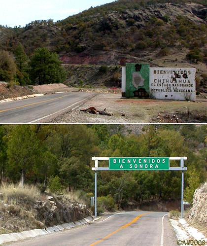 frontera Chihuahua / Sonora border por Ale*.