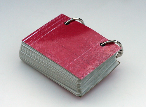 Back view of the little book
