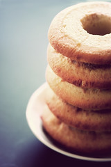 Baumkuchen cake  (k-ko) Tags: light cake sweets tamron 90mm baumkuchencake
