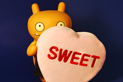 For You! (and me?) (revlimit) Tags: pink toys sweet vinyl 7 scout valentine explore uglydoll uglydolls wage cwd heartshapedbox explorefrontpage exploretop10 nikond40 55mm28macro cwd572 cwdweek57