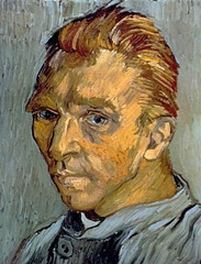 Self Portrait at Saint Remy - 1889