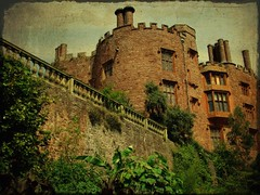 Powys castle, another perspective (Steel Steve) Tags: castle wales cymru powis powys themoulinrouge 25faves platinumphoto anawesomeshot ilovemypic hccity