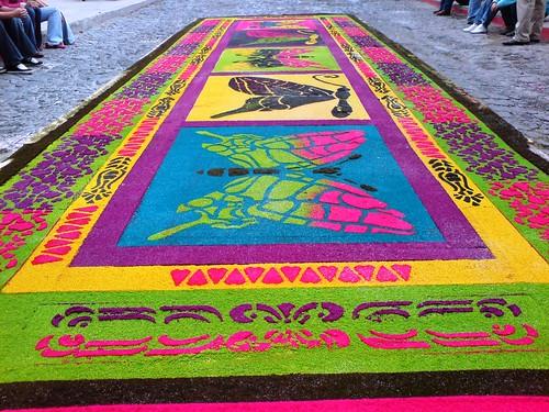 Antigua guatemala alfombras semana santa en el mundo - Mundo alfombra ...