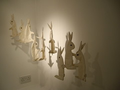 Nine Rabbits (gallery) by Lucy May Schofield