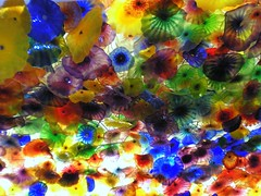 Colorful glass (cyanocorax) Tags: chihuly art glass colors colorful lasvegas nevada strip bellagio dalechihuly blown
