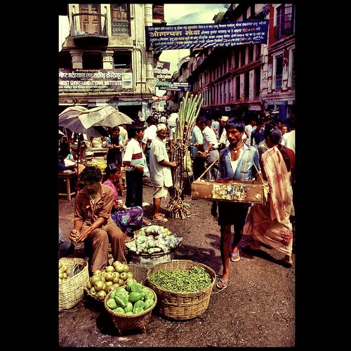Do you remember the Kathmandu street market?
