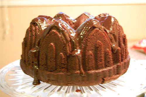 chocolate banana bundt