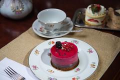 Raspberry Torte (Jnipco) Tags: cake torte raspberry dessert french finechina food