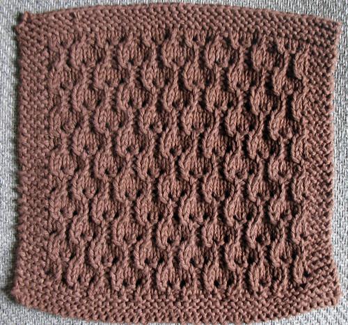 Ravelry Hourglass Eyelet Dishcloth 026 Pattern By Love 2 Knit