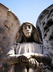 Melancola_2 (Bellwizard) Tags: barcelona cemetery graveyard angel cementerio melancholy melancola montjuc ngel cementiri melanconia ngel