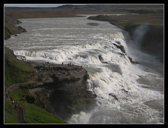 So small in front of the power of nature 2 (nuvola in viaggio) Tags: waterfall iceland falls gullfoss sland cascata