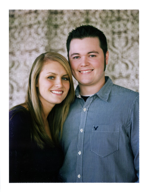 Image of Billy and Ashley:  Engagement Polaroids