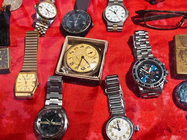 IMG_0644 Watches , flea market , Penang