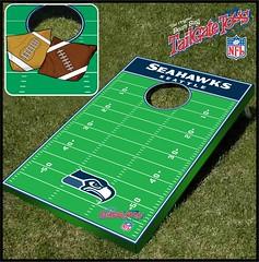 Seattle Seahawks Bean Bag Toss Game