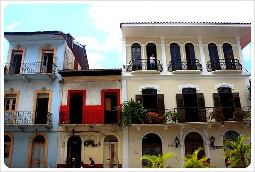 Casco viejo buildings