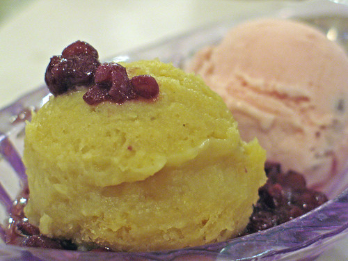 Japanese Yam and Red Bean Ice Cream