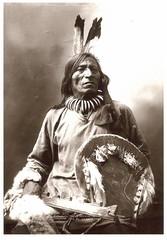 Indian Postcards (vegienytx) Tags: native indian nativeamerican american postcards tribes sioux medicineman paintedbuffalo battleoflittlebighorn indianpostcards foolbull dogsoldiersociety
