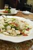 イタヤ貝とアオリイカ、アワビ茸、白舞茸の自家製XO醤炒め, 南国酒家, 渋谷桜ヶ丘店