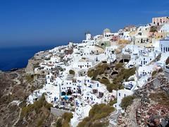 Santorini - Greece (Sandro Mancuso) Tags: sea island creta santorini greece grecia crete oia