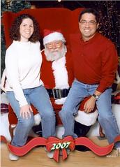 Sitting on Santa's Knee