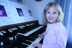 Megan playing music (cdascher) Tags: kids megan