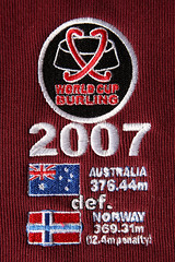 2007 Burling World Cup - Australian Team victory logo