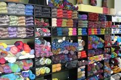 Knitwerks yarn wall