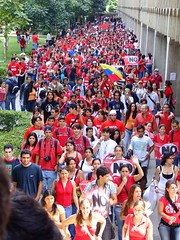 UCAB in red (ervega) Tags: red college students student movement university venezuela flag protest movimiento caracas protesta universidad constitution reforma ucab constitucion marcha reform estudiantes studentmovement rojos estudiantil modulos movimientoestudiantil movimientoestudiantilvenezolano venezuelanstudentmovement