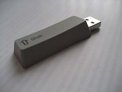 USB key...