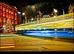 City lights 2 Zurich Parada Platz . (Izakigur) Tags: city longexposure light urban streets by night train schweiz licht nikon europa europe flickr suisse lumière zurich feel bahnhof sbb hauptbahnhof f mm d200 20 nikkor svizzera 35 zuerich 346 artisticexpression 2035mm 2035 nikond200 2035mmf28d 2035f28d nikkor2035f28 nikkor2035 nikon2035mmf28 nikon2035mmf28d paradaplatz izakigur nikkor2035f28d izakigur2007 izakigurzurich 28d2035 nikkor2035f28dif