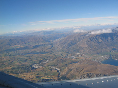 Heading out of Queenstown