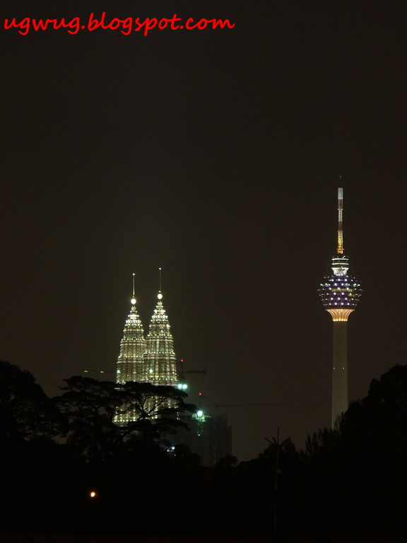 Twin Towers & KL Tower 1 A.M.