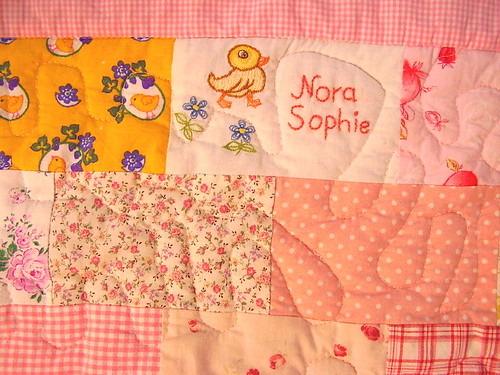 Nora Sophie´s Babyquilt zoomed