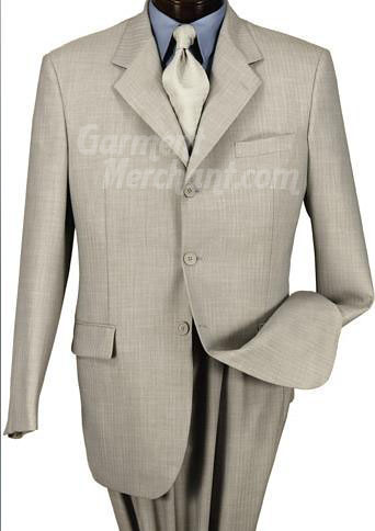 silver suit pinstripes