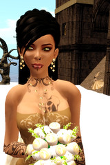 Trin + bride (Tragix Wilder) Tags: wedding 3d secondlife