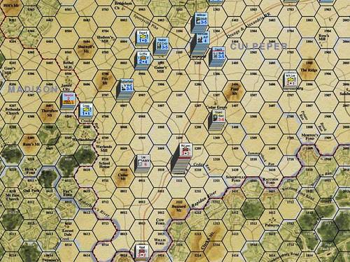 Burnside Takes Command - Lee's Retreat