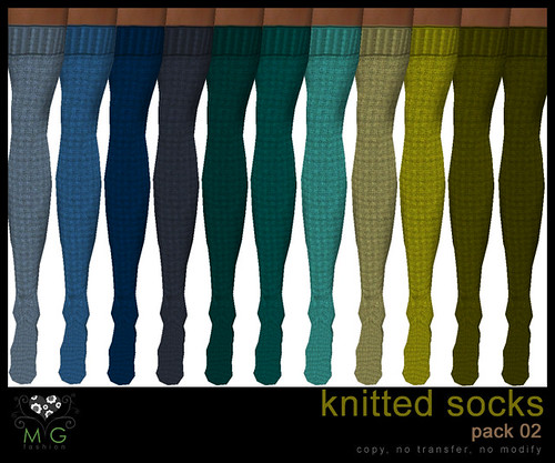 [MG fashion] Knitted socks (pack02)