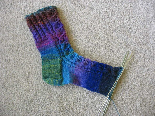Kureyon Birch Leaf sock