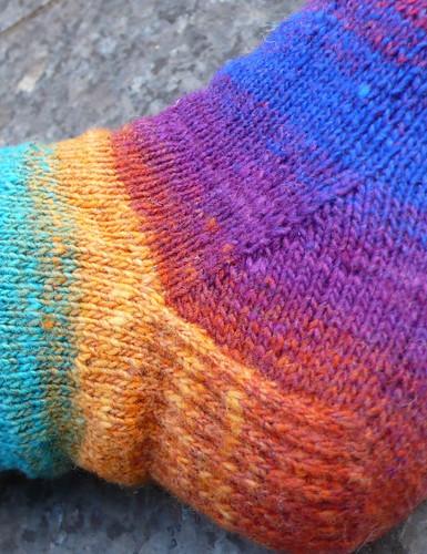 Noro Kureyon Sock: heel
