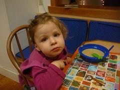 charlotte doesn't like her soup (alist) Tags: alist robison charlottelasky cassiecleverly alicerobison ajrobison
