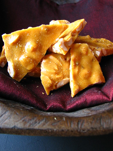 Indian-spiced Peanut Brittle