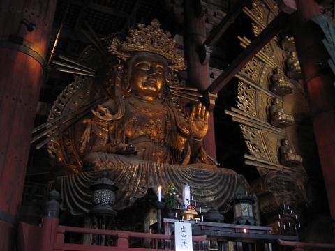 東大寺(大仏殿)-虚空蔵菩薩坐像