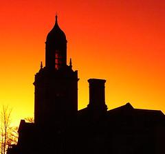 Queensbury sunset 17.02.08