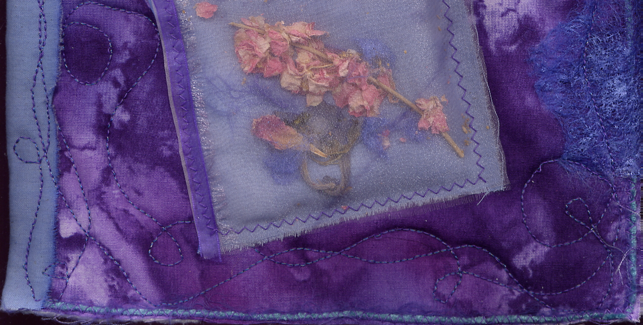 Journal Quilt Purple