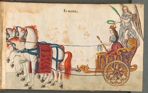 Beschreibung der historischen und allegorischen Personen 1596 (1600) Europa