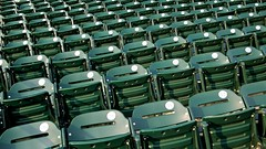 Sold Out (themikepark) Tags: leica green chairs baseball stadium seats comericapark detroittigers