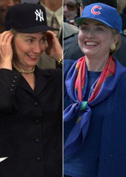 Hillary Clinton: she flip flops