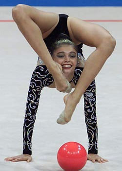 Russian Rhythmic Gymnast and politician Alina Kabayeva