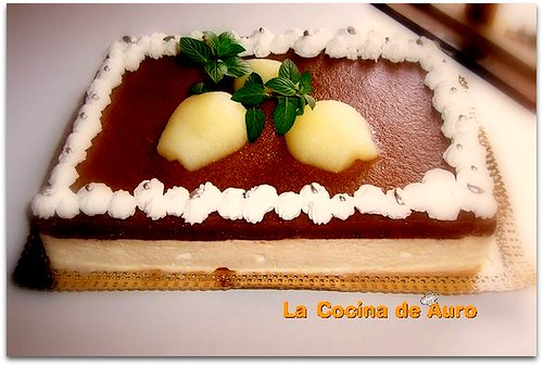 tarta de peras al amaretto